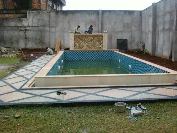 Renovasi Kolam