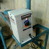 mesin pemanas air