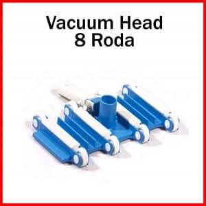 vacuum head 8 roda