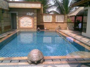 kolam renang kura kura