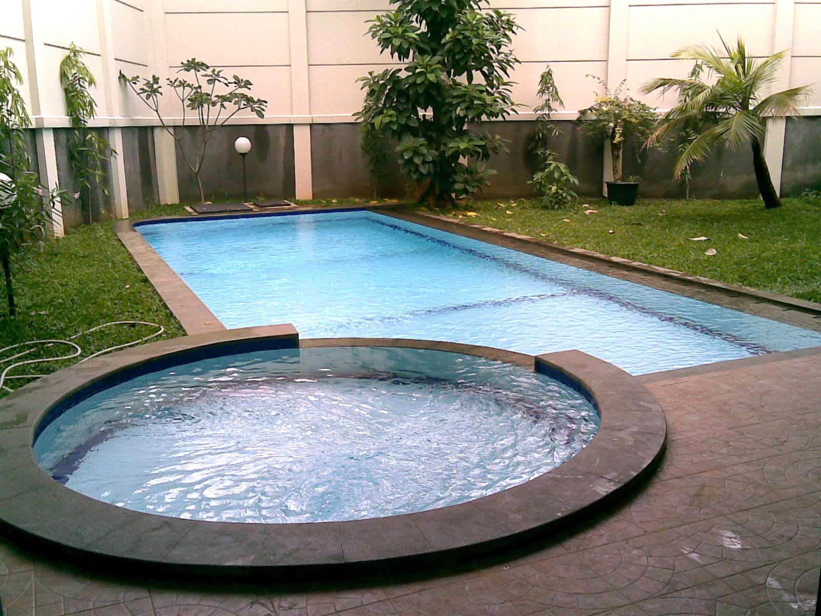 kolam renang jacuzzi