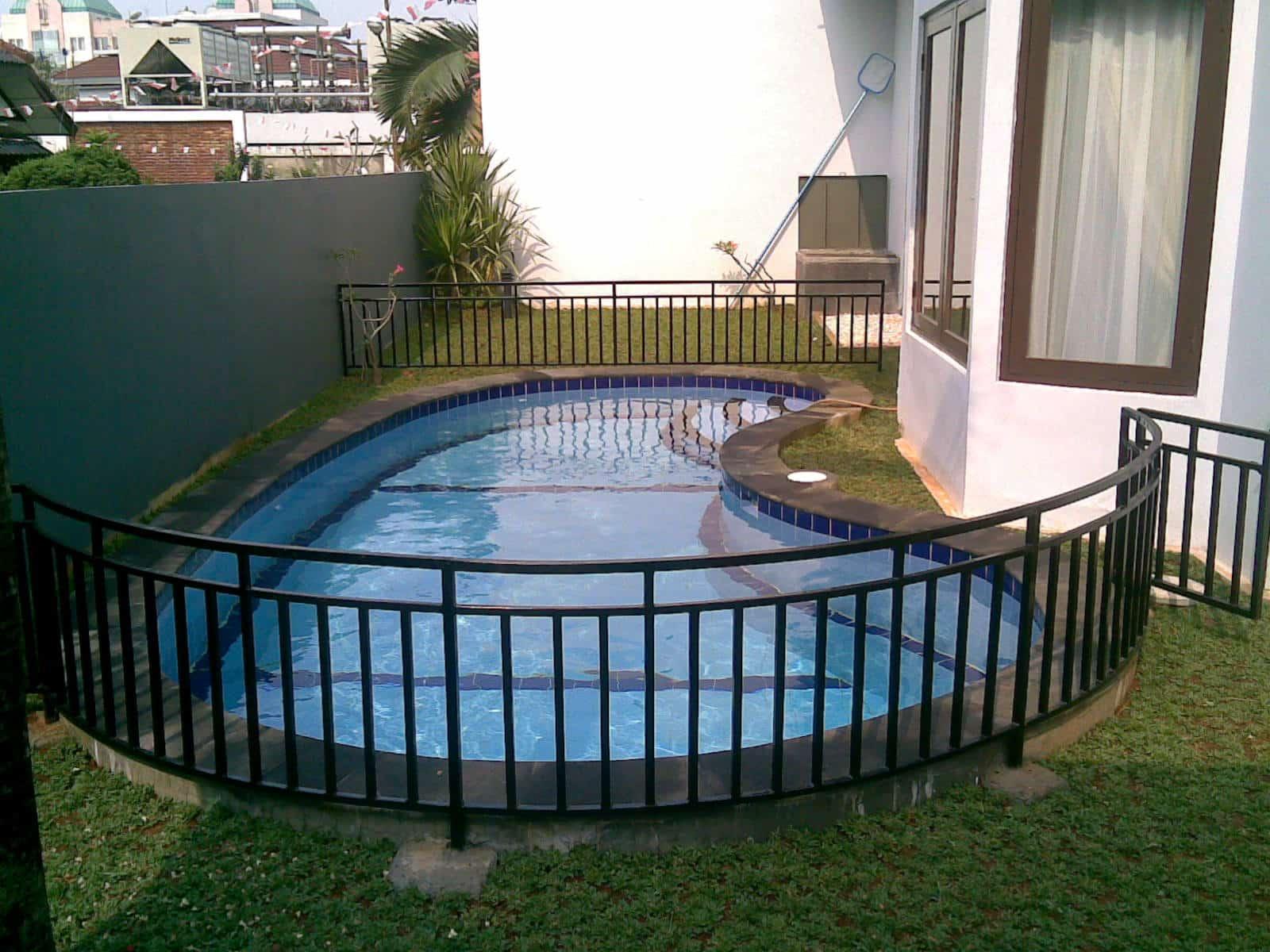 kolam renang model mangga