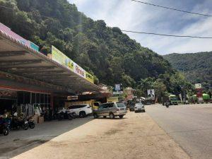 material di bawah gunung