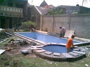 kolam renang jasa service